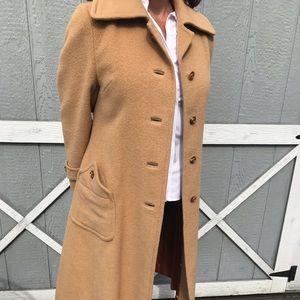 Jackets & Blazers - Vintage Camel Hair Coat